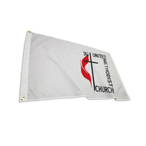 United Methodist Outdoor and Indoor Nylon Flags