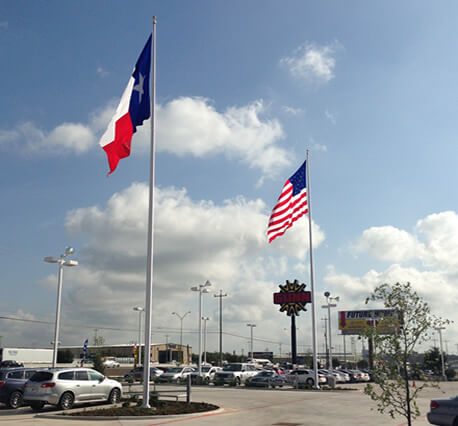 Flagpole Repair And Installation Services Ameritex Flag