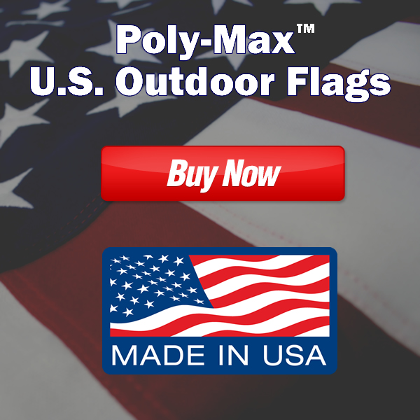PolyMax Outdoor American Flags